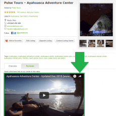Show your videos on your AyaAdvisors listing when you sign up to be a member